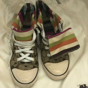 Coach High Tops